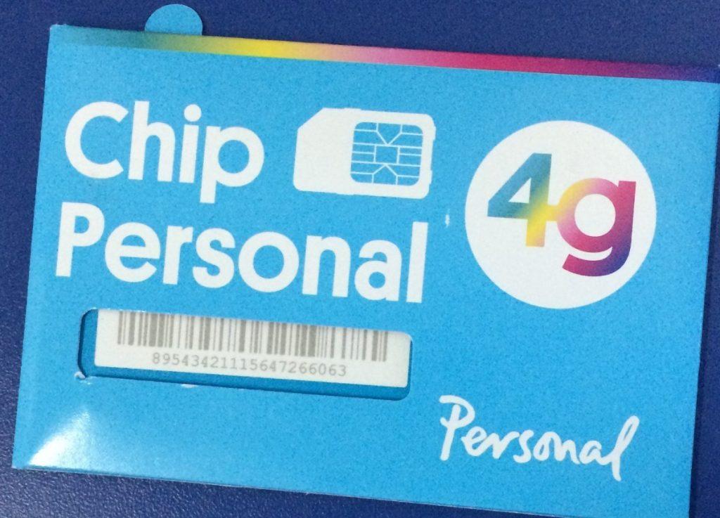 activar chip Personal