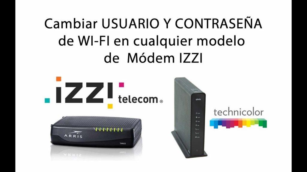 cambiar la contraseña wifi de Izzi
