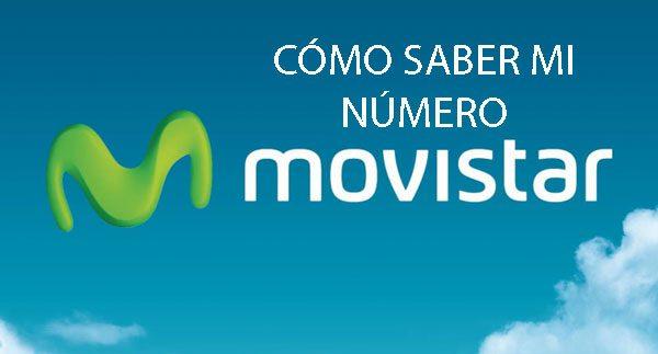 saber mi número de Movistar
