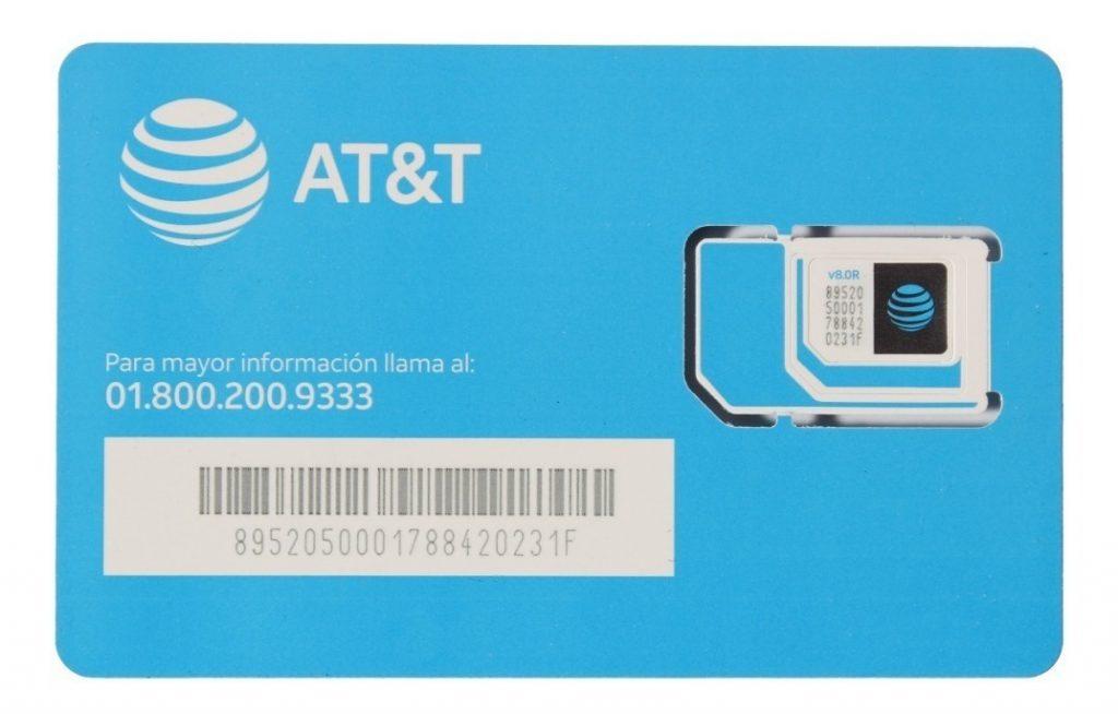 activar un chip AT&T